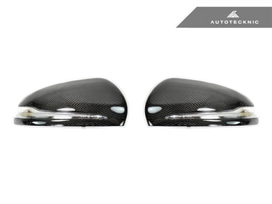 Shop AutoTecknic Replacement Carbon Fiber Mirror Covers - Mercedes-Benz W205 C-Class | W222 S-Class - AutoTecknic USA