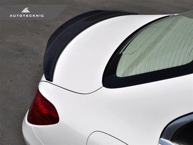 Shop AutoTecknic Carbon Competition Extended-Kick Trunk Spoiler - W205 C-Class Sedan - AutoTecknic USA