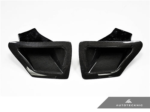 AutoTecknic Dry Carbon Dual Air Ducts - Nissan 370Z
