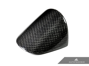 AutoTecknic Carbon Fiber Chrono Eye Lid Cover - Porsche Carrera 991