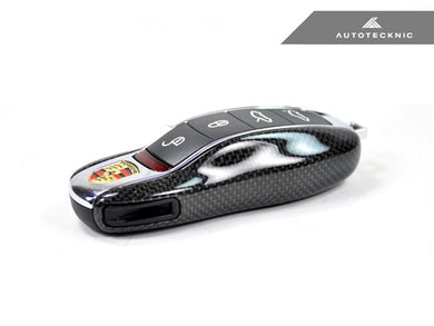 Shop AutoTecknic Replacement Carbon Fiber Key Cover - Porsche - AutoTecknic USA