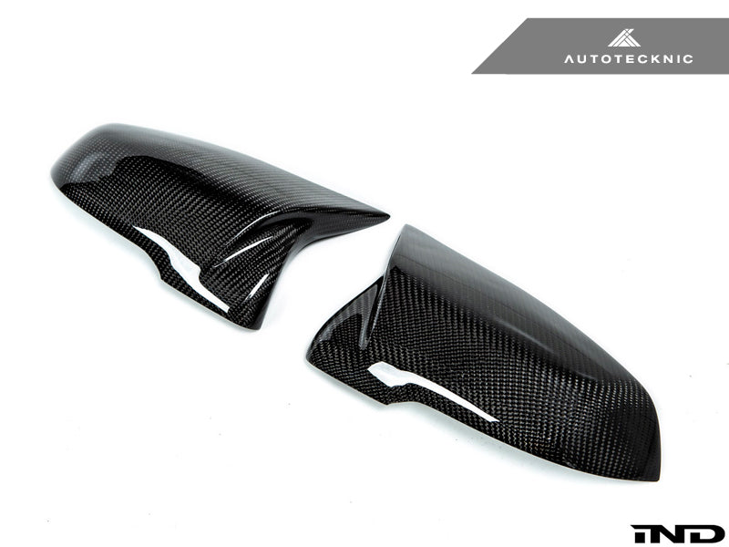 Shop AutoTecknic M-Inspired Carbon Fiber Mirror Covers - F10 5-Series 14-16 - AutoTecknic USA