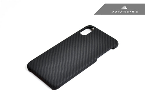 new arrival 2d0b3 3e0e3 AutoTecknic Dry Carbon iPhone Cover - iPhone X