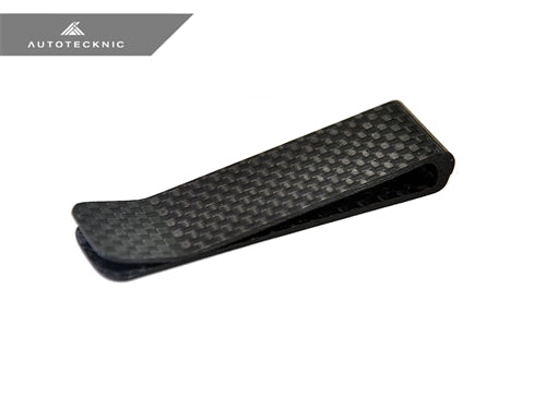 AutoTecknic Dry Gloss Carbon Fiber Money Clip - Original - AutoTecknic USA