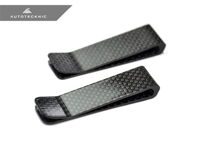Shop AutoTecknic Dry Gloss Carbon Fiber Money Clip - Original - AutoTecknic