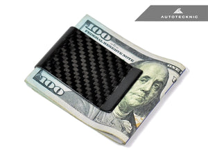 Shop AutoTecknic Dry Carbon Fiber Money Clip - Version 2 - AutoTecknic