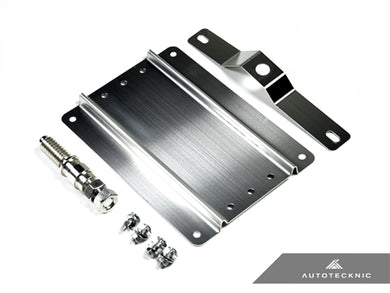 AutoTecknic Universal License Plate Bracket - Most Porsche Vehicles