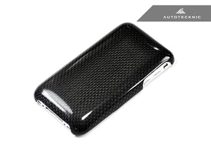 Shop AutoTecknic Carbon Fiber iPhone Cover - 3G / 3Gs - AutoTecknic