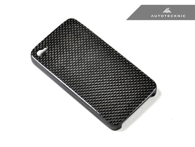 Shop AutoTecknic Carbon Fiber iPhone Cover - 4 / 4S - AutoTecknic