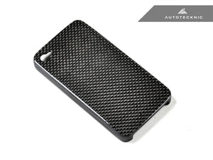 Shop AutoTecknic Carbon Fiber iPhone Cover - 4 / 4S - AutoTecknic USA