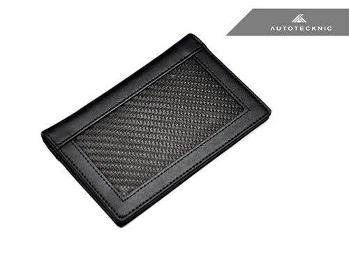 AutoTecknic Carbon Fiber Traveler's Passport Holder