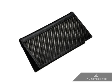 Shop AutoTecknic Carbon Fiber Leather Checkbook Holder - AutoTecknic USA