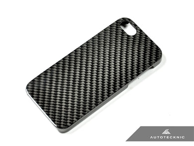AutoTecknic Carbon Fiber iPhone Cover - 5 (Hard Case)