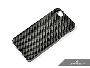Shop AutoTecknic Carbon Fiber iPhone Cover - 5 (Hard Case) - AutoTecknic USA