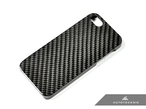 Shop AutoTecknic Carbon Fiber iPhone Cover - 5 (Hard Case) - AutoTecknic