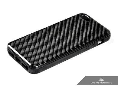 AutoTecknic Carbon Fiber iPhone Cover - 5 (Soft Case)