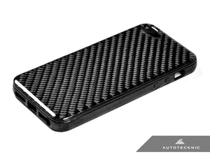 Shop AutoTecknic Carbon Fiber iPhone Cover - 5 (Soft Case) - AutoTecknic