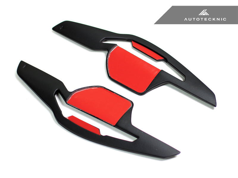 Shop AutoTecknic Stealth Black Competition Shift Paddles - Audi DSG Vehicles - AutoTecknic USA