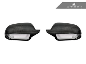 Shop AutoTecknic Replacement Carbon Mirror Covers - Audi 8P A3/ S3 10-13 | B8 8K A4/ S4 10-15 | 8T A5/ S5 11-15 - AutoTecknic