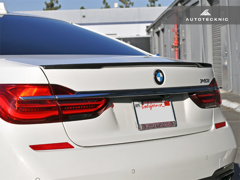 Shop AutoTecknic Carbon Fiber Trunk Lip Spoiler - G11/ G12 7-Series - AutoTecknic USA