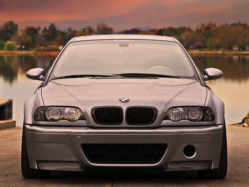 Shop AutoTecknic Replacement Stealth Black Front Grilles - E46 3-Series Coupe Pre-Facelift | M3 - AutoTecknic USA