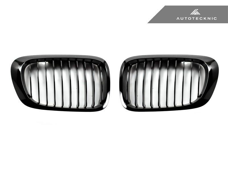 Shop AutoTecknic Replacement Glazing Black Front Grilles - E46 3-Series Coupe Pre-Facelift | M3 - AutoTecknic USA