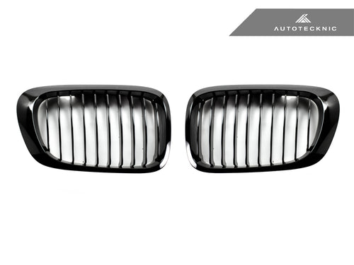 Shop AutoTecknic Replacement Glazing Black Front Grilles - E46 3-Series Coupe Pre-Facelift | M3 - AutoTecknic