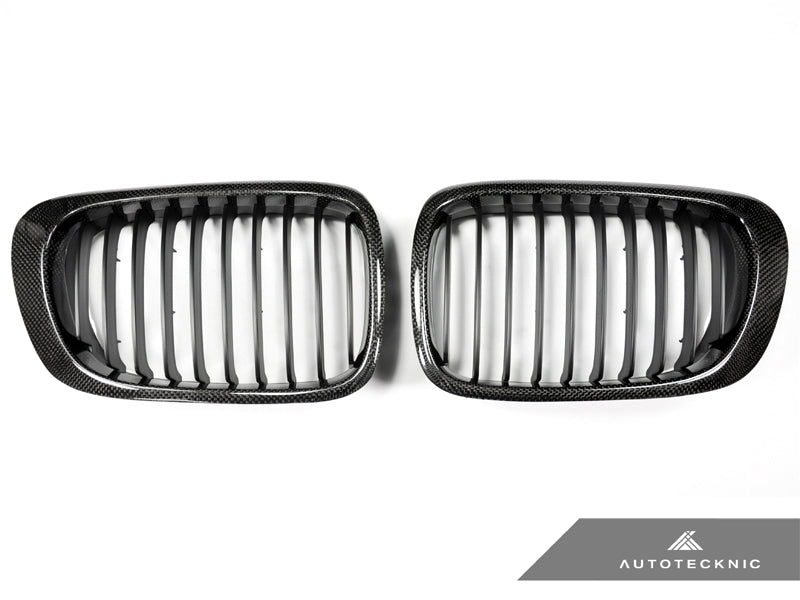Shop AutoTecknic Replacement Carbon Fiber Front Grilles - E46 3-Series Coupe Pre-Facelift | M3 - AutoTecknic USA