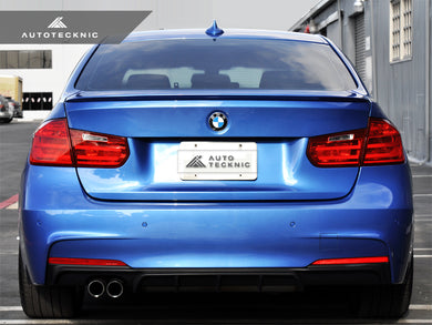 Shop AutoTecknic Low-Kick Trunk Spoiler - BMW F30 3-Series | F80 M3 Sedan - AutoTecknic USA