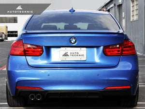 Shop AutoTecknic Low-Kick Trunk Spoiler - BMW F30 3-Series | F80 M3 Sedan - AutoTecknic