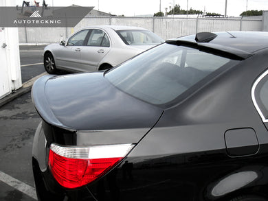 Shop AutoTecknic Roof Spoiler - BMW E60 5 Series Sedan (2004-2010) - AutoTecknic
