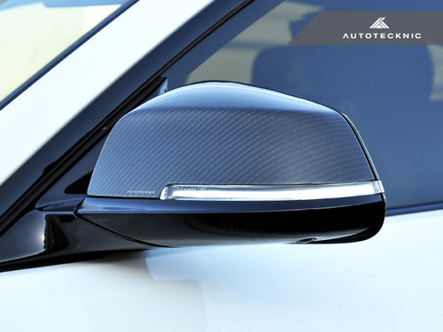 Shop AutoTecknic Replacement Dry Carbon Mirror Covers - E84 X1 | F20 1-Series | F22 2-Series | F30 3-Series | F32/ F36 4-Series | F87 M2 - AutoTecknic
