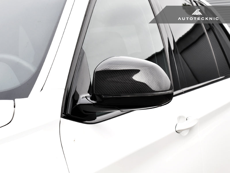 AutoTecknic Replacement Carbon Fiber Mirror Covers - BMW F25 X3 | F26 X4 | F15 X5 | F16 X6 - AutoTecknic USA
