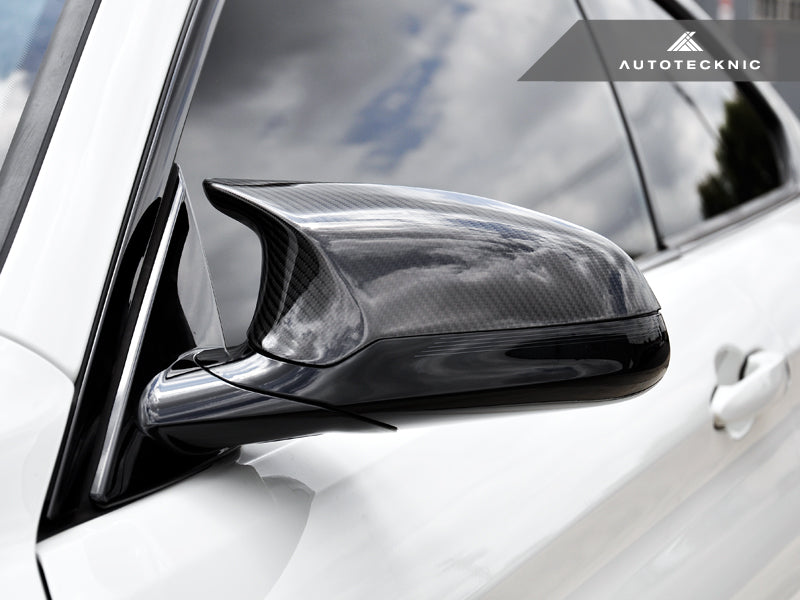 Shop AutoTecknic Replacement Carbon Fiber Mirror Covers - F87 M2 Competition | F80 M3 | F82/ F83 M4 - AutoTecknic USA