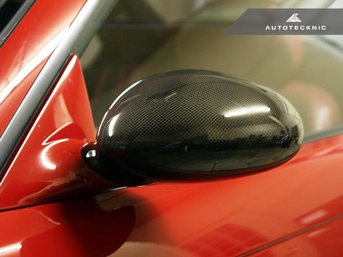 Shop AutoTecknic Replacement Carbon Fiber Mirror Covers - BMW E46 M3 - AutoTecknic