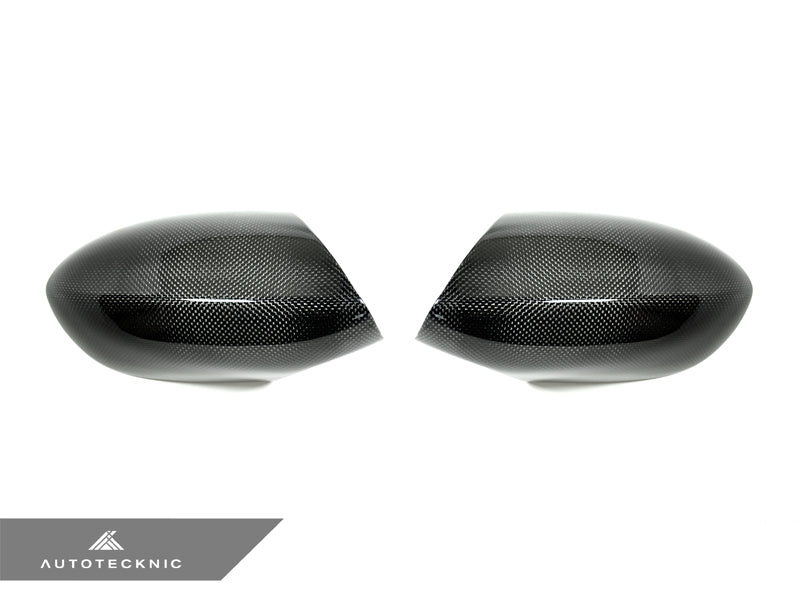Shop AutoTecknic Replacement Carbon Fiber Mirror Covers - BMW E90/ E92/ E93 M3 | E82 1M - AutoTecknic USA