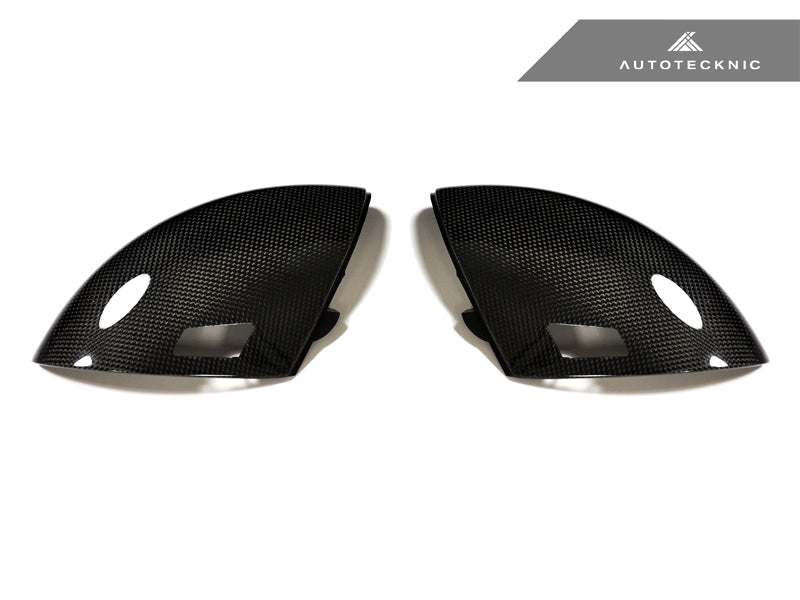 Shop AutoTecknic Replacement Carbon Fiber Mirror Covers - BMW E60 M5 | E63 M6 - AutoTecknic USA