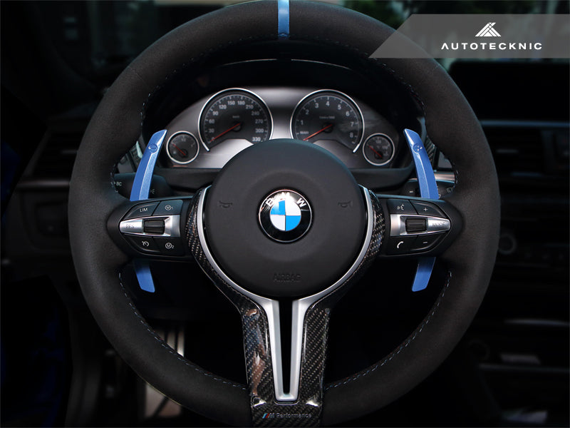 FOR BMW F80 M3 F82//F83 M4 M5 M6 Carbon Fiber Gear Shift Selector Cover Glossy