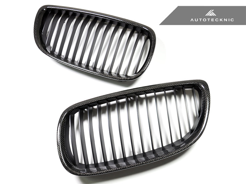 Shop AutoTecknic Replacement Carbon Front Grilles - E92/ E93 3-Series (Including E9X M3) - AutoTecknic USA