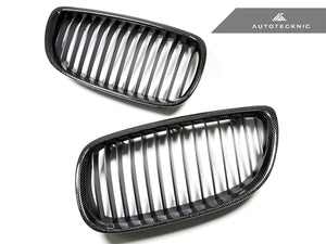Shop AutoTecknic Replacement Carbon Front Grilles - E92/ E93 3-Series (Including E9X M3) - AutoTecknic