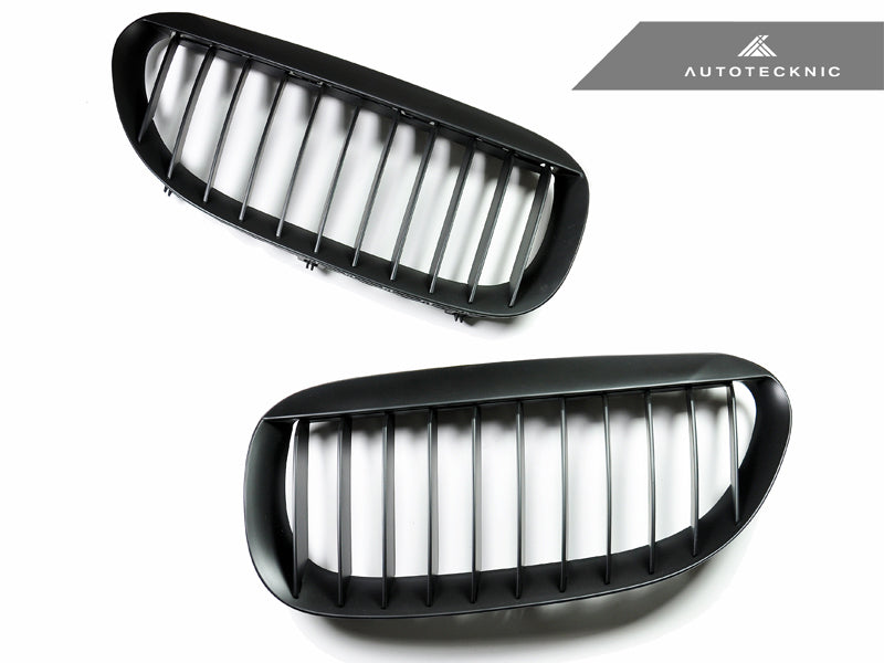 Shop AutoTecknic Replacement Stealth Black Front Grilles - E63/ E64 6-Series & M6 - AutoTecknic USA