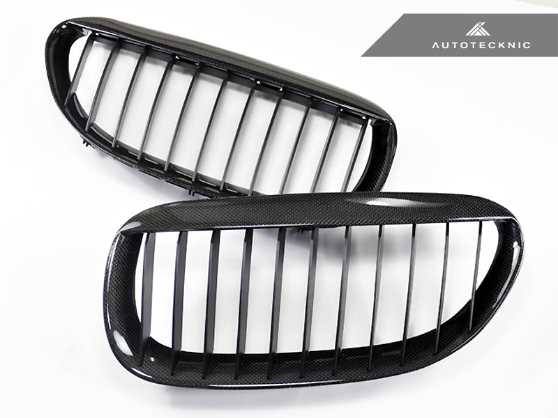 Shop AutoTecknic Replacement Carbon Fiber Front Grilles - E63/ E64 6-Series & M6 - AutoTecknic USA