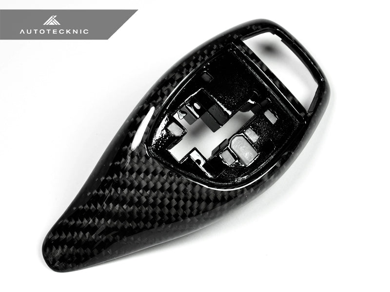 Shop AutoTecknic Carbon Fiber Gear Selector Cover - BMW (Sport Automatic Transmission Equipped Only) - AutoTecknic USA