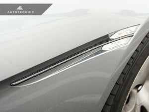 AutoTecknic Replacement Carbon Fiber Fender Slats - E63 Coupe / E64 Cabrio 6 Series & M6