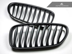 Shop AutoTecknic Replacement Stealth Black Front Grilles - E85 Coupe / E86 Cabrio | Z4 Series including Z4M - AutoTecknic