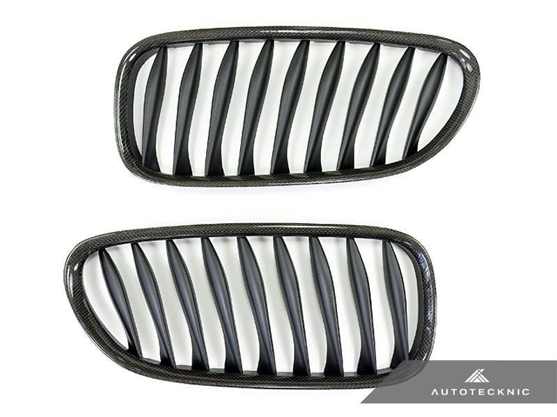 Shop AutoTecknic Replacement Carbon Fiber Front Grilles - E85 Coupe / E86 Cabrio | Z4 Series including Z4M - AutoTecknic USA
