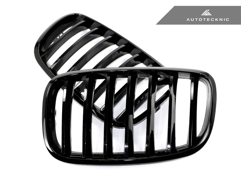 Shop AutoTecknic Replacement Glazing Black Front Grilles - E70 X5 / X5M | E71 X6 / X6M - AutoTecknic USA
