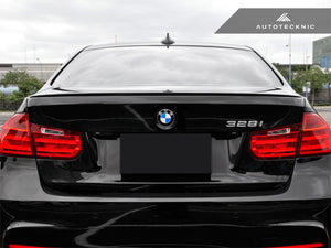 Shop AutoTecknic Carbon Fiber Trunk Lip Spoiler - BMW F30 3-Series Sedan | F80 M3 - AutoTecknic USA