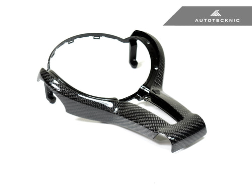 Shop AutoTecknic Carbon Outer Steering Wheel Trim - F-Chassis M Vehicles - AutoTecknic USA