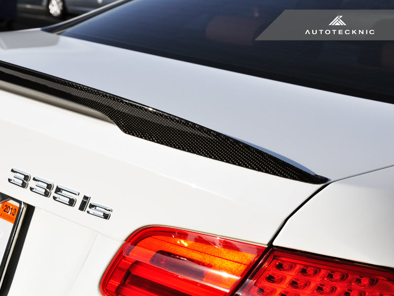 AutoTecknic Vacuumed Carbon Fiber Performante Trunk Spoiler - E92 3-Series Coupe (2007-2012)